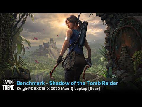 OriginPC EON15-X 2070 Max-Q AMD Laptop - Benchmark - Shadow of the Tomb Raider [Gaming Trend]