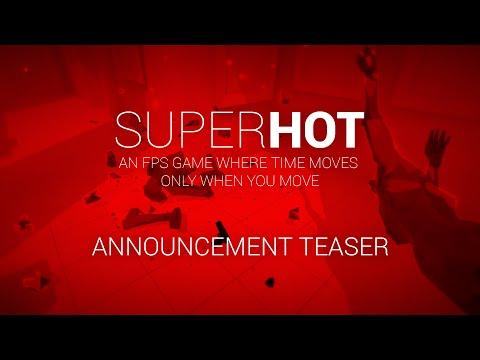 SUPERHOT Release Date Trailer