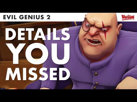 Evil Genius 2 RELEASE TRAILER | Things You Might Have Missed