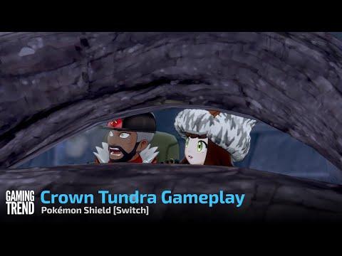 Pokémon Shield Crown Tundra Gameplay - Switch [Gaming Trend]