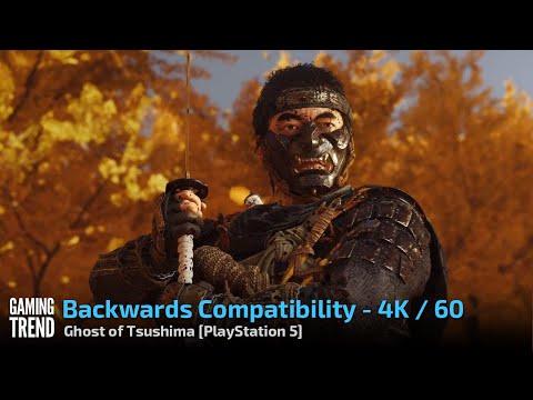 Ghost of Tsushima - Backwards Compatibility 4K 60 - PlayStation 5 [Gaming Trend]