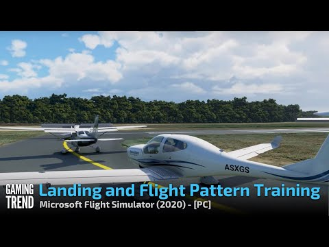 Microsoft Flight Simulator - Landing and Flight Pattern Training - PC [Gaming Trend]