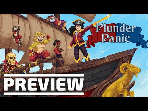 Plunder Panic preview - Will gladly hit the panic button