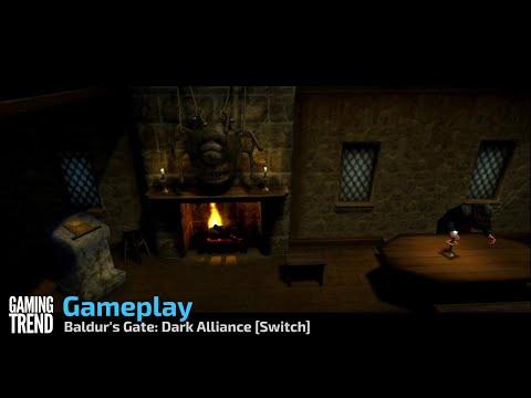 Baldur's Gate: Dark Alliance Gameplay - Switch [Gaming Trend]