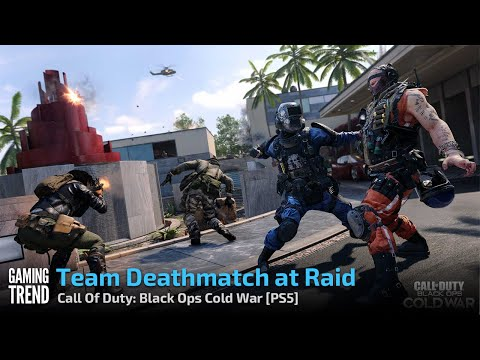 Team Deathmatch at Raid - Call Of Duty: Black Ops Cold War [PS5] - [Gaming Trend]