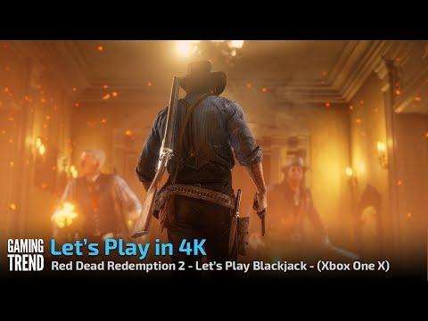 Red Dead Redemption - Let's Play in 4K - Blackjack - [Gaming Trend]