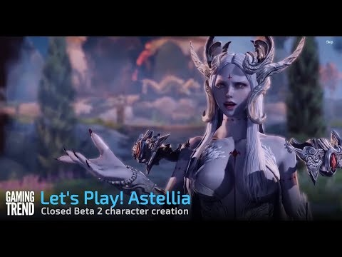 Let's Play! Astellia - Character creation [Gaming Trend]