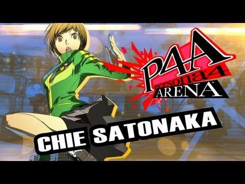 Persona 4 Arena Moves Video: Chie Satonaka