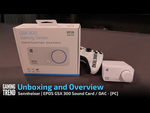 Sennheiser EPOS GSX 300 Sound Card Unboxing and Overview [Gaming Trend]