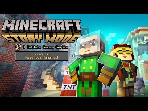 'Minecraft: Story Mode' Retail & Episode 2 - 'Assembly Required' Launch Trailer