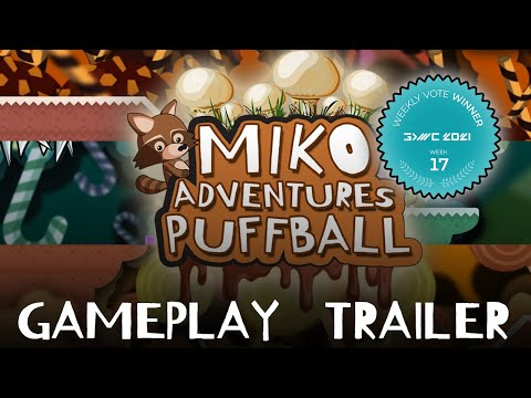 Miko Adventures Puffball - official gameplay trailer (WISHLIST NOW!!)