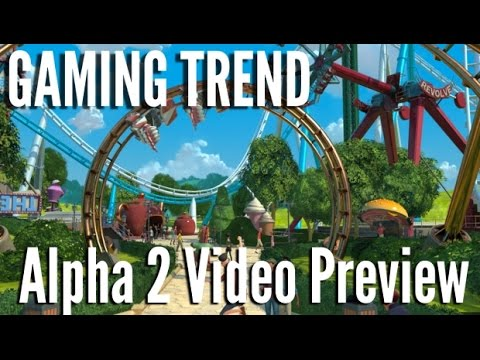 Planet Coaster - Alpha 2 - basic building demo [Gaming Trend]