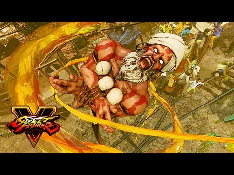 Street Fighter V Paris Games Week Trailer feat. Dhalsim
