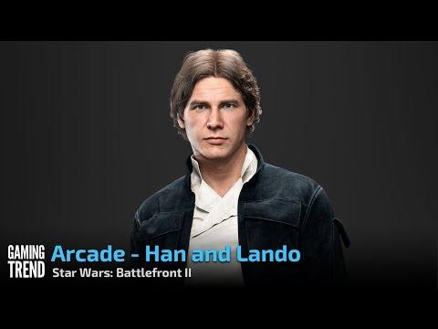 Star Wars Battlefront II - Arcade - Tatooine - Han and Lando