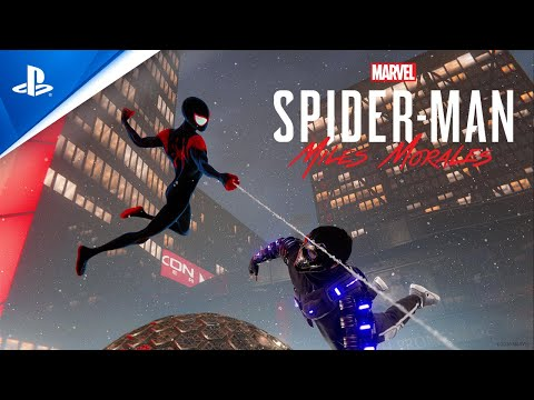 """Marvel's Spider-Man: Miles Morales – """"Spider-Man: Into the Spider-Verse"""" Suit Announce 
