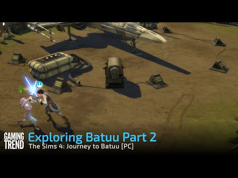The Sims 4: Journey to Batuu - Exploring Batuu Part 2 [Gaming Trend]