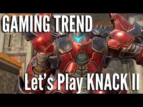 Knack II - Let's Play Co-Op [Gaming Trend]