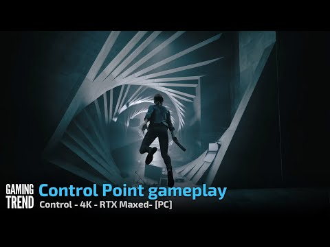 Control - Clear a Control Point - 4K RTX Maxed - PC [Gaming Trend]