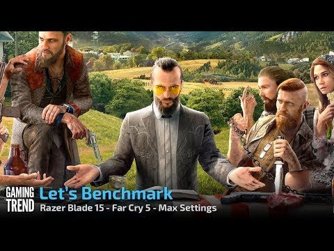 Razer Blade 15 - Far Cry 5 - Max Settings [Gaming Trend]