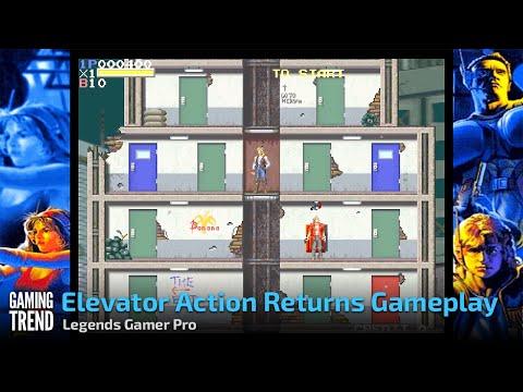 Elevator Action Returns Gameplay - Legends Gamer Pro [Gaming Trend]
