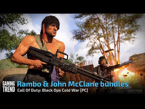 Rambo & John McClane bundles - Call Of Duty: Black Ops Cold War [PC] - [Gaming Trend]