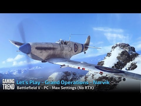 Battlefield V - Grand Operations - Narvik - PC - [Gaming Trend]
