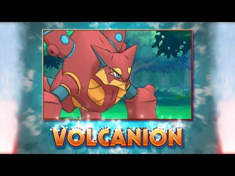 Meet the Steam Pokémon Volcanion!