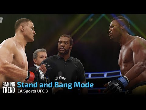 EA Sports UFC 3 - Stand and Bang [Gaming Trend]