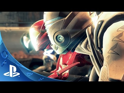 PlayStation Experience 2015: Destiny: The Taken King - Sparrow Racing League Reveal Trailer   PS4