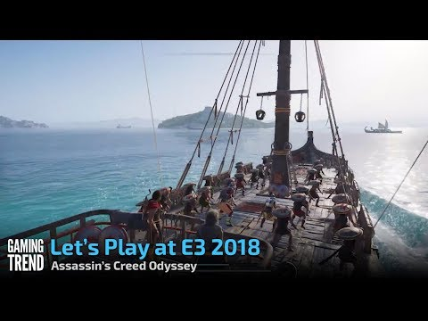 Assassin's Creed Odyssey - Naval Combat - E3 2018 Preview