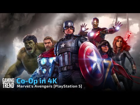 Marvel's Avengers - Co-Op gameplay in 4K on PlayStation 5 - Part 2 [Gaming Trend]