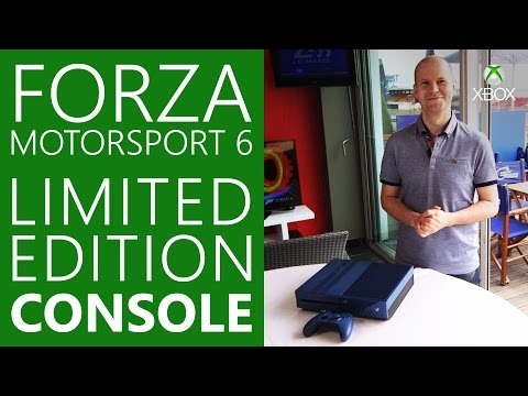 Forza Motorsport 6 Xbox One Limited Edition 1TB Console Revealed