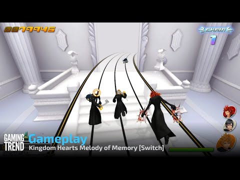 Kingdom Hearts Melody of Memory Gameplay - Switch [Gaming Trend]
