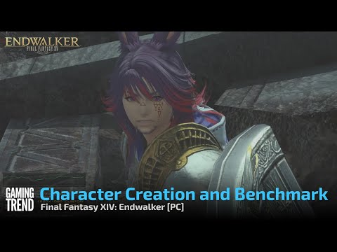 Final Fantasy XIV: Endwalker Male Viera Creation and Benchmark - PC [Gaming Trend]