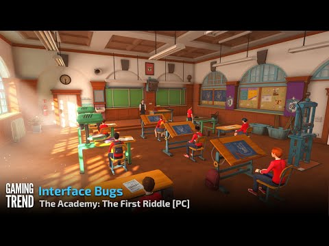 The Academy The First Riddle - Interface Problems - PC [Gaming Trend]