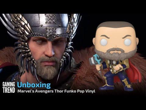 Marvel's Avengers Game Thor Pop Vinyl Unboxing [Gaming Trend]