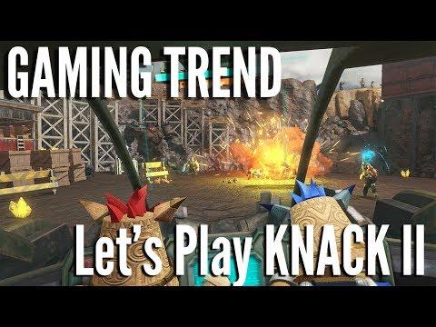 Knack II - Let's Play Co-Op Round 2 [Gaming Trend]