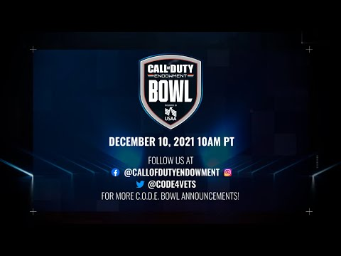 Announcing the 2021 C.O.D.E. Bowl on Dec. 10