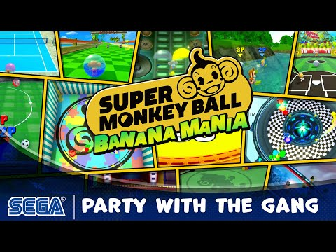 Super Monkey Ball Banana Mania | Party with the Gang