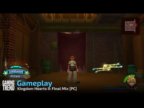 Kingdom Hearts II: Final Mix Gameplay - PC [Gaming Trend]