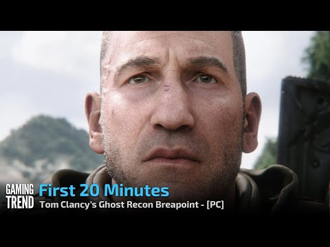 Tom Clancy's Ghost Recon Breakpoint - First 20 minutes - PC [Gaming Trend]