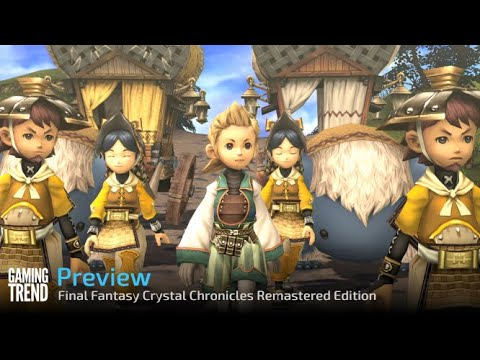 Final Fantasy Crystal Chronicles Remastered Edition for Switch - Preview Video