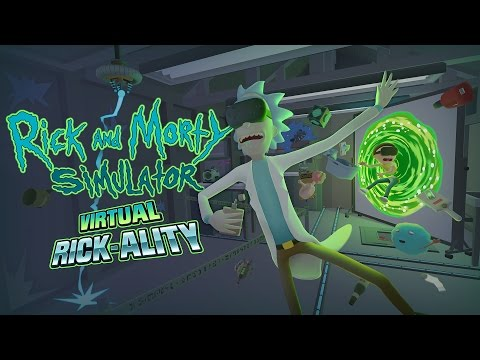 Rick and Morty: Virtual Rick-Ality - Let's charge some batteries!