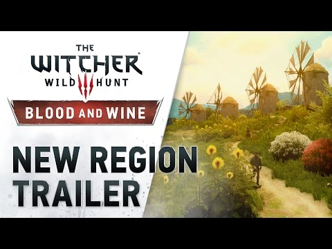 """The Witcher 3: Wild Hunt – Blood and Wine """"New Region"""" Trailer"""