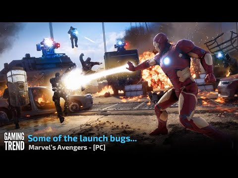 Marvel's Avengers has some bugs at launch - PC [Gaming Trend]