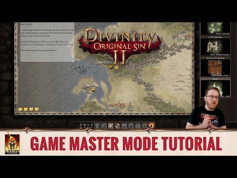 Divinity: Original Sin 2 - Game Master Mode Tutorial