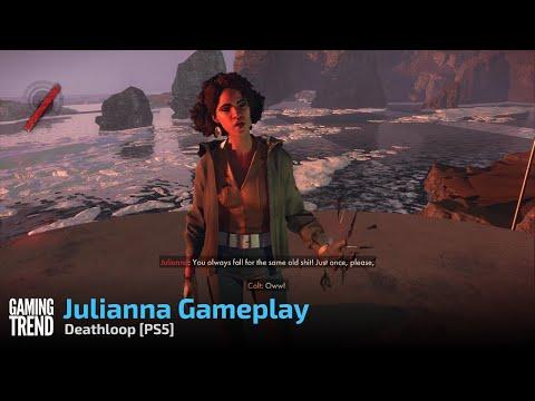 Deathloop Julianna Gameplay - PS5 [Gaming Trend]