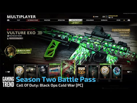 Season Two Battle Pass - Call Of Duty: Black Ops Cold War [PC] - [Gaming Trend]
