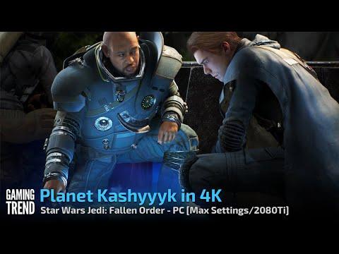 Star Wars Jedi Fallen Order - Planet Kashyyyk in 4K - PC [Gaming Trend]