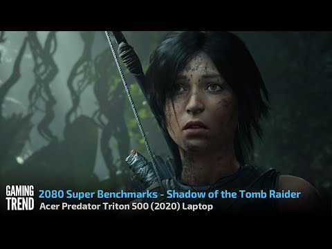 Acer Triton 500 Laptop - With and Without Turbo Benchmark - Shadow of the Tomb Raider [Gaming Trend]